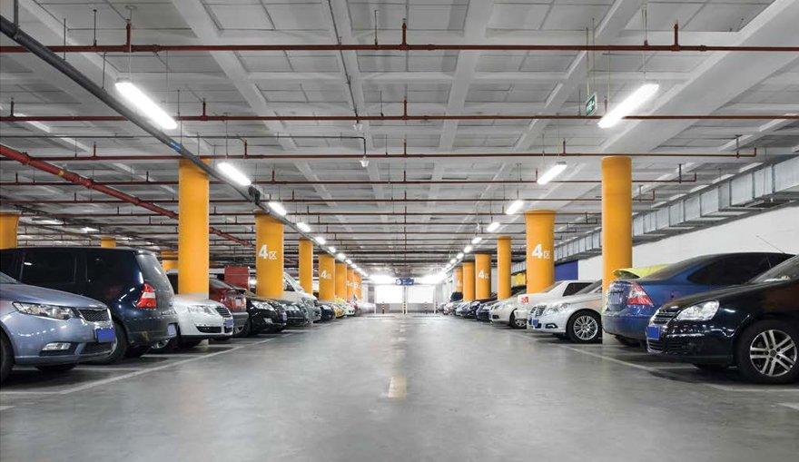 Verlichting parkeergarage