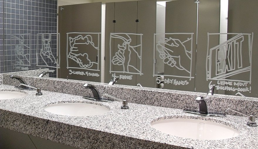 Verlichting sanitair
