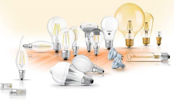 Welke lampen kunnen door LED worden vervangen