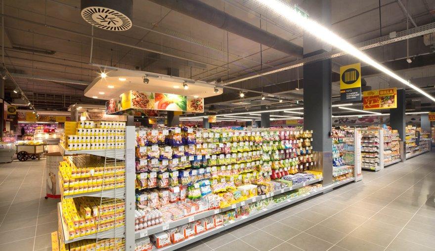 Verlichting supermarkt | emmlight