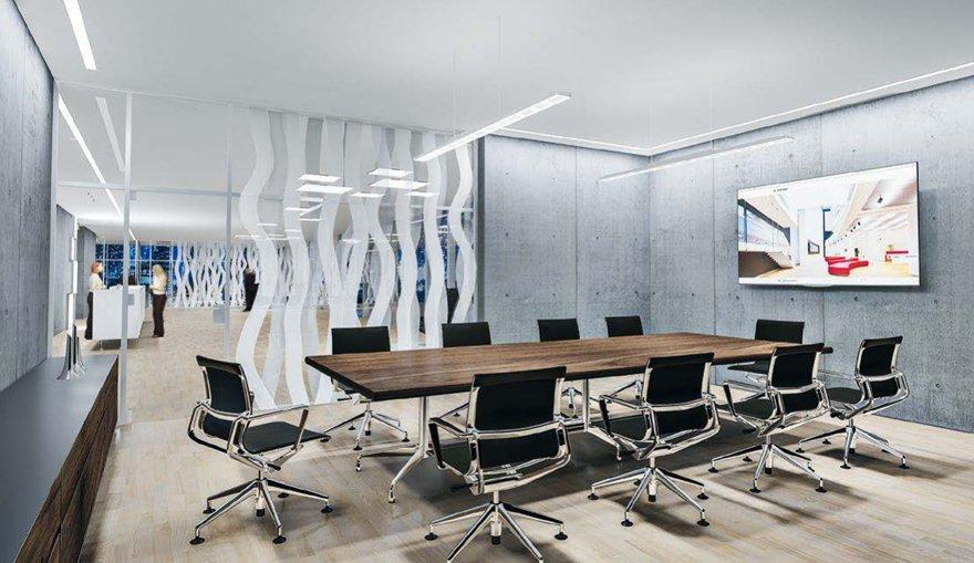 Verlichting vergaderzaal